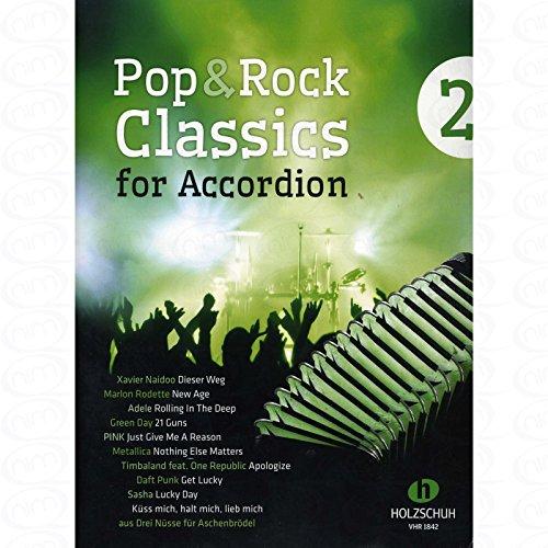 Pop + Rock Classics 2 - arrangiert für Akkordeon [Noten/Sheetmusic]