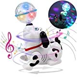 Toyshine Dancing Dog with Music, Flashing Lights (Battery Included)- Multi Color