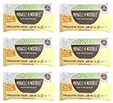 Miracle Noodle Fettuccine Pasta - Plant Based Shirataki Noodles, Keto, Vegan, Gluten-Free, Low Carb, Paleo, Kosher, 0 Calories, Soy Free, Non-GMO - Perfect for Your Keto Diet - 7 oz (Pack of 6)