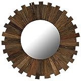 Festnight- Spiegel mit Rahmen | Wohnzimmer Wandspiegel | Vintage Badspiegel | Antik Schlafzimmer...