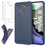 Ttianfa Case Cover for LG Q Stylus case【2x】Tempered
