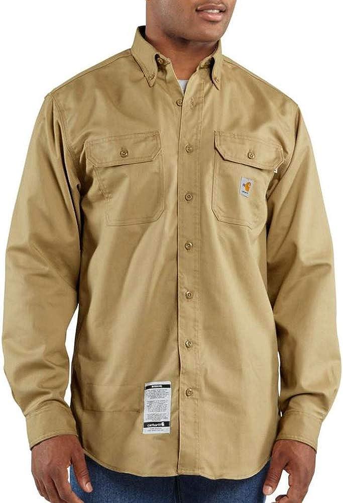 Carhartt Big & Tall Flame-Resistant Classic Twill Shirt