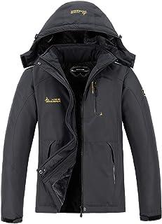 Men's Waterproof Ski Jacket Warm Winter Snow Coat Mountain Windbreaker Hooded Raincoat Snowboarding Jackets