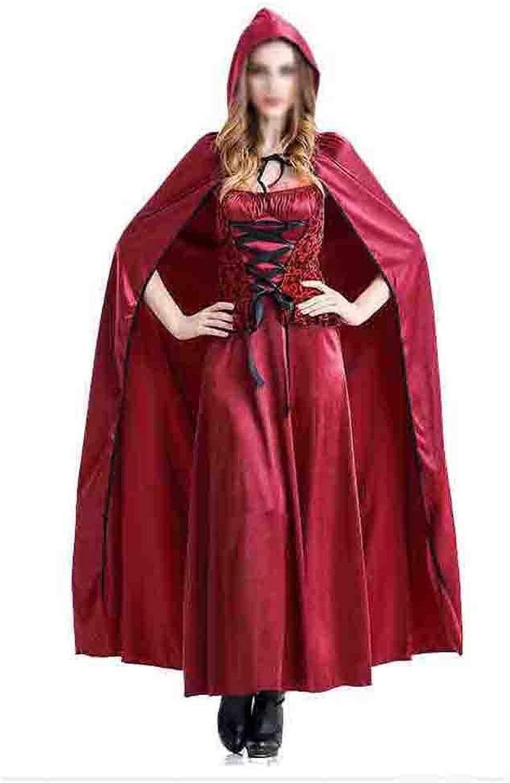 HAOBAO Vestito da Principessa della Principessa di Prestazione di Htuttioween Vestito del Partito del Piccolo Vestito Rosso da Corsa