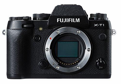 Fujifilm X-T1 - Cuerpo de cámara EVIL de 16.3 MP (pantalla 3', grabación de vídeo, WiFi), color negro