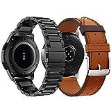 Syxinn Compatible con Correa de Reloj Gear S3 Frontier/Classic/Galaxy Watch 46mm Banda Pulseras de...