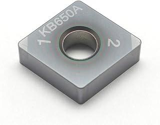 Mitsubishi Materials WNMG431MS VP10RT Carbide WN Type Negative Turning Insert with Hole Coated Pack of 10 0.5 IC Grade VP10RT 0.187 Thick 0.016 Corner Radius MS Breaker Trigon