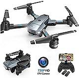 SNAPTAIN A15H drone με κάμερα HD 720P Αναδιπλούμενη κηφήνας FPV ασύρματη 120 ° ευρεία γωνία RC quadrocopter / ακέφαλος λειτουργία / προσήνεμα / 3D κτυπήματα / τροχιά ελέγχου πτήσης / φωνής / αισθητήρα βαρύτητας / Notlandu