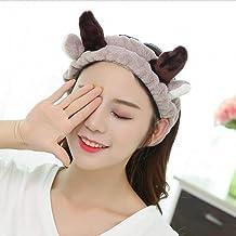 Diadema para el pelo con diseño de conejo coreano