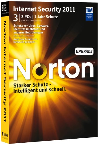 Norton Internet Security 2011 - 3 User - Upgrade [import allemand]
