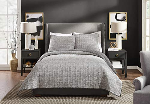 Ayesha Curry Full/Queen Quilt Graphite Gray