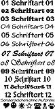 Anhänger fürs Halsband Knochen: mit Motiv Hunde (48 versch. Rassebilder) + Wunschtext wählbar! zweiseitig personalisierbar - 5