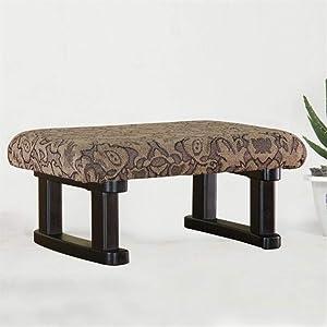 AINIYF Büschelige Stoff-Osmanenbank/gepolsterte Schuh-Osmanen-Sitze für Eingang und Schlafzimmer