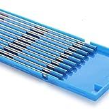 TEN-HIGH TIG Tungsten Electrodes 2% Lanthanated Blue 1.6mm*175mm 10 Pack