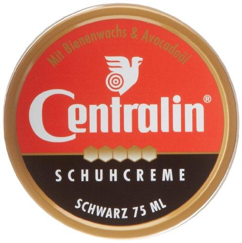 Schuhcreme Schwarz 75 ML Centralin Schuhcreme schwarz, 5er Pack (5 x 75 ml)