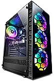 Vibox V-25 Gaming PC - 10ª Gen 6-Core Intel i5 Procesador - GTX 1650 4Gb Tarjeta Grafica - 16Gb RAM - 1TB NVMe M.2 SSD - Windows 10 - WiFi