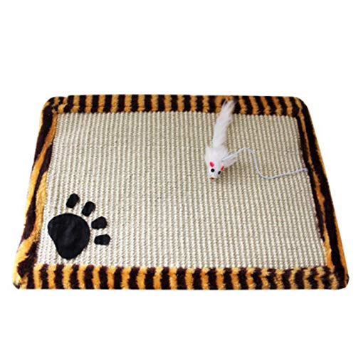 Misis Der ultimative Scratching Post Scratcher mit Katzenminze Scratch Board Verschleißfestes Bissfestes Pad First-Rate