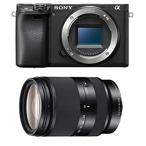 SONY Alpha 6400 Noir + 18-200 LE