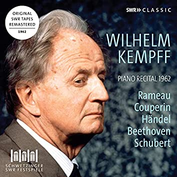 Rameau, Couperin, Handel, Beethoven & Schubert: Works for Piano (Live)