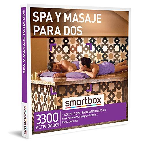 SMARTBOX - Caja Regalo - SPA y Masaje para Dos - Idea de Regalo - 1 Actividad de Bienestar para 2 Personas