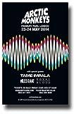 Arctic Monkeys Poster - Konzertpromo 12 x 18 w/Tame Impala