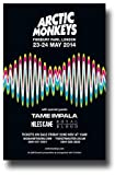 Poster Arctic Monkeys – Concert Promo 12 x 18 w/Tame