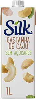 Bebida Vegetal Silk Castanha de Caju Sem Açúcar 1L