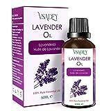 VSADEY Aceite Esencial de Lavanda 50ml, Aceite de Lavanda 100% Puro y Natural Aromaterapia Orgánica...