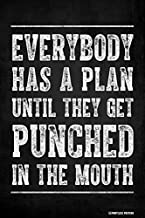 Pointless Posters Everybody Has A Plan Until They Get Punched in The Mouth Poster Print