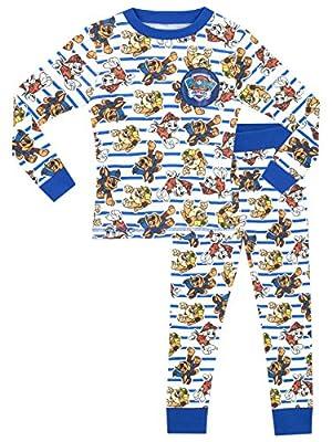 Paw Patrol Pijamas de Manga Larga para niños La Patrulla Canina 3-4 Años por