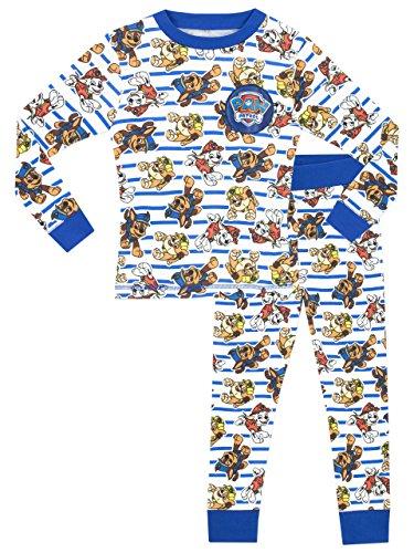 Paw Patrol Pijamas de Manga Larga para niños La Patrulla Canina 3-4 Años