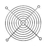 SODIAL(R) Protezione per Le Dita PC DC Ventilatore Griglia Protettore 120 Millimetri 12 Centimetri in Metallo Tono Argento