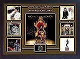 SGH SERVICES Poster, gerahmt, Michael Jackson Top 6 Albums