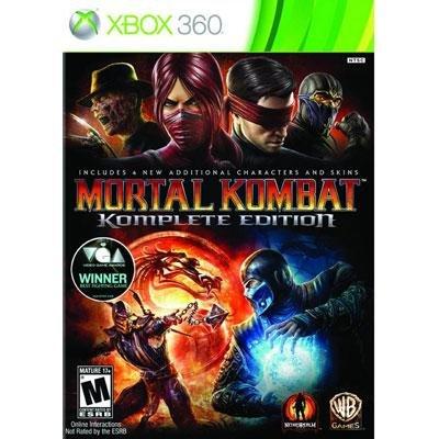 Mortal Kombat Komplete X360