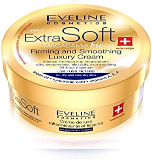 EVELINE SOFT MACADAMIA BIO OIL FIRMING & SMOOTHING LUXURY CREAM 200 ML