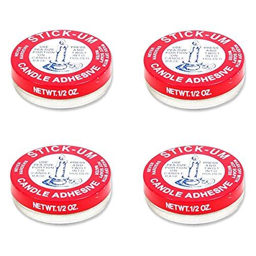 Fox Run Stick-Um Candle Adhesive (4 Pack)
