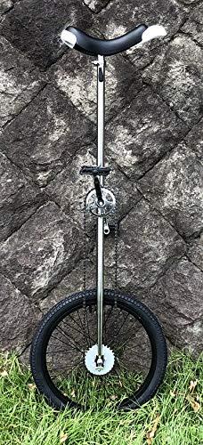 どのスポーツのトレーニングにも一輪車は最適。 バランス感覚・体幹を鍛えられます!MYS ULTIMATE TALL UNI クロムメッキ一輪車 (20インチ) ロング一輪車 MYSオリジナルモデル【MYS20CP-Tall】