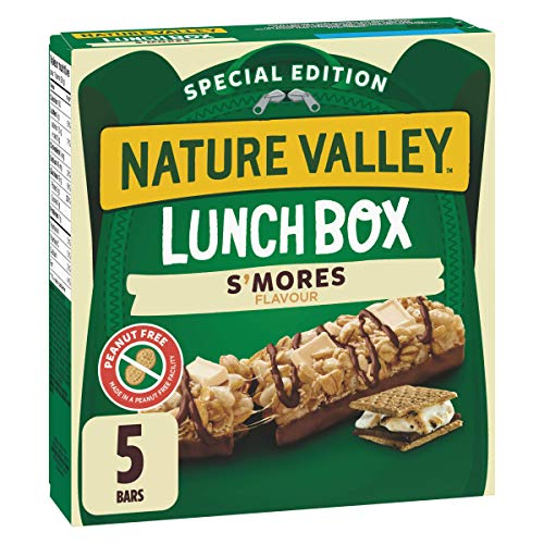 NATURE VALLEY Lunchbox S'mores Flavor Granola Bars, 130g