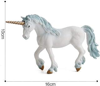 WANGXJ Trinket Myth Pegasus Fairy Tale Unicorn Flying Horse Unicorn Figurines Children Girl Toys Birthday Christmas Best Gift for Kids-A
