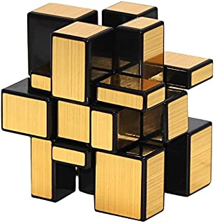 Cubelelo Shengshou 3x3 Golden Mirror Puzzle Cube 3x3 Speed Magic Cube