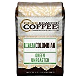 Fresh Roasted Coffee LLC, Green Unroasted Colombian Decaf Coffee Beans, 5 Pound Bag