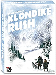 Red Raven Games Klondike Rush Board Games