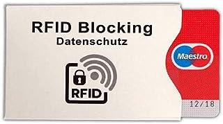 Custodia protettiva anti clonazione per carte di credito contactless rfid card protector set 3 pezzi - Kamiustore