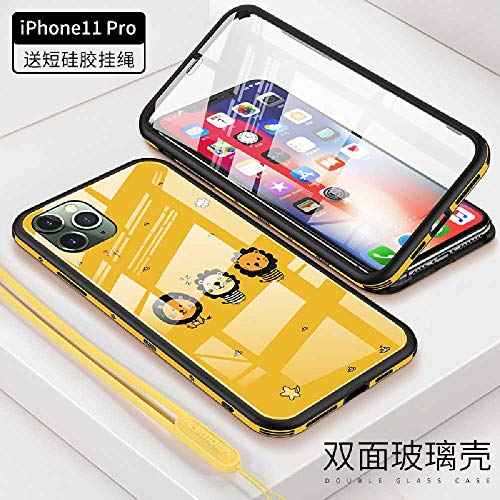 maofan Iphone 11Promax/iphone 11Pro/iphone 11 Anti-val Beschermhoes, Sling Riem Hoes, Telefoon Bescherming Geval Scherm Bescherming iphone11 PRO-4