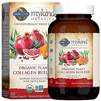 Vegan Collagen Builder for Beautiful Hair, Skin and Nails