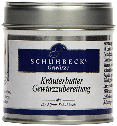 Schuhbecks Kräuterbutter Gewürzzubereitung, 3er Pack (3 x 55 g)