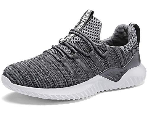SINOES Zapatillas de Deportes Hombre Mujer Zapatos Deportivos Aire Libre para Correr Calzado Sneakers Gimnasio Casual