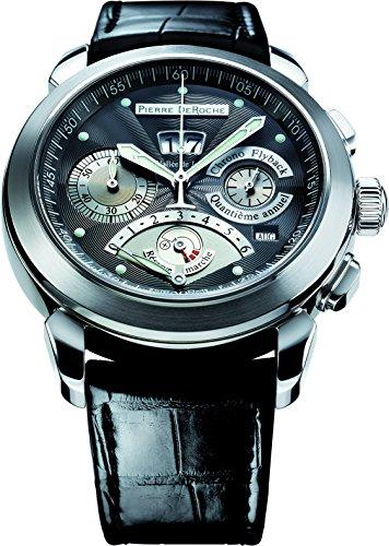 Pierre De Roche GrandCliff Anual Calendario Power Reserve Reloj Hombre GRC10001ACI0-004CRO