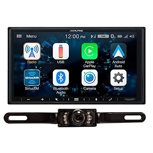 DIAS Alpine iLX-W650 Digital Media Receiver w/CarPlay & Android Auto + License Plate Camera