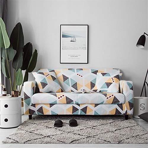 Fundas de sofá Fundas de sofá elásticas para Sala de Estar Fundas de sofá elásticas Loveseat Muebles seccionales Protector de Silla A21 2 plazas